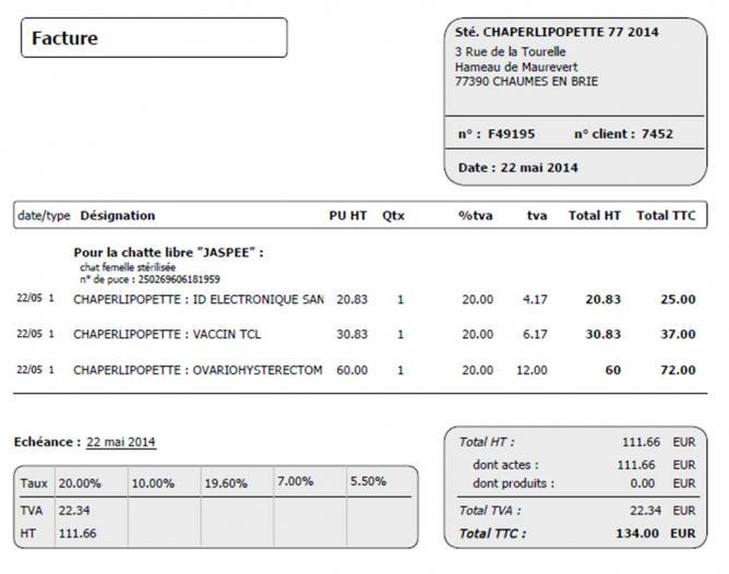 Facture facture jaspee3